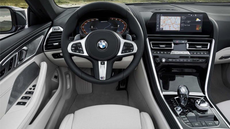 This is the new BMW 8 Series Convertible