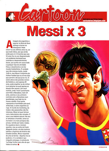 Messi-Barcelona-caricature by caricaturas