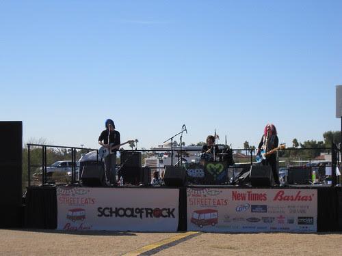 School of Rock band
