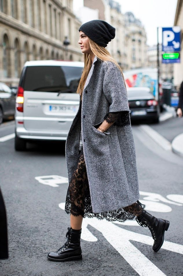 Le Fashion Blog -- Bianca Brandolini D'Adda Paris Street Style -- Beanie Hat, Lace Dress & Combat Boots -- Via A Love Is Blind -- photo Le-Fashion-Blog-Bianca-Brandolini-DAdda-Paris-Street-Style-Beanie-Hat-Lace-Dress-Combat-Boots-Via-A-Love-Is-Blind.jpg
