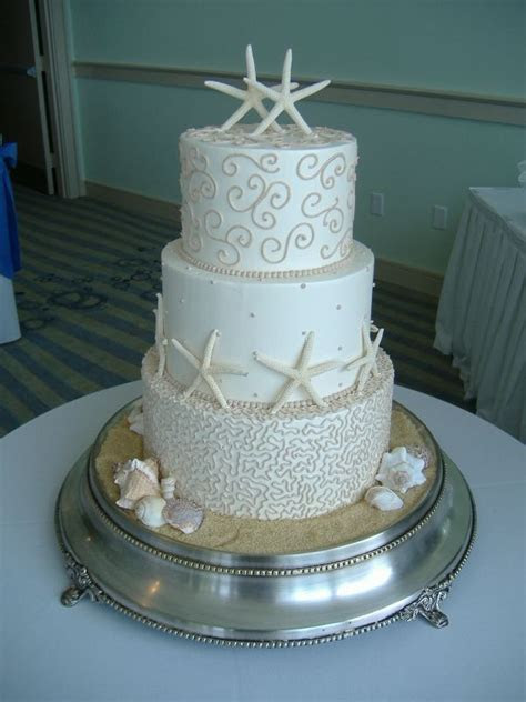 25  best ideas about Starfish wedding cake on Pinterest