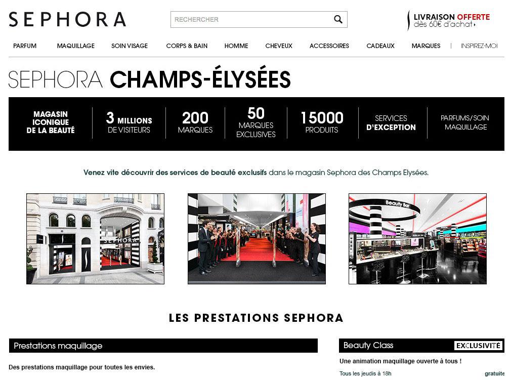 Sephora Champs Elysees Lightroom Co Ltd