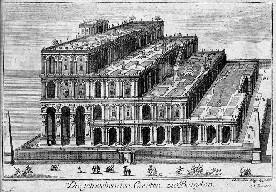 Die schwebenden Gärten von Babylon 1726.jpg