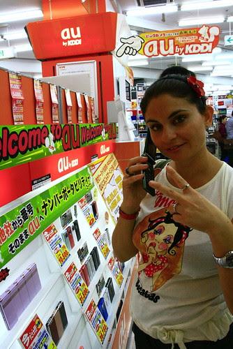 Japón y los móviles de concha