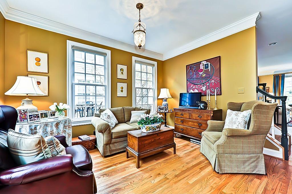 Brown And Mustard Yellow Living Room | Modern Diy Art Designs