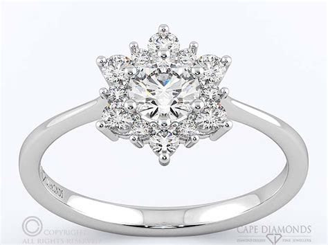 Halo Engagement & Wedding Ring Collection : Cape Diamonds