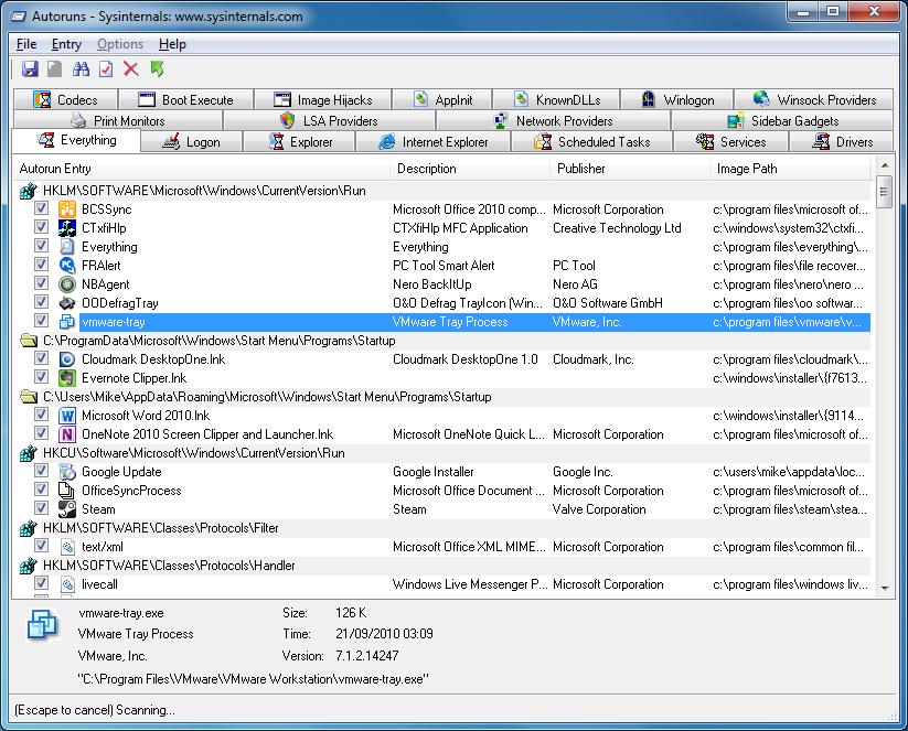 برنامج مجانى مميز للاستكشاف الاخطاء بجهازك وإصلاحها وعرض ادق تفاصيل نظامك Sysinternals Suite 2013