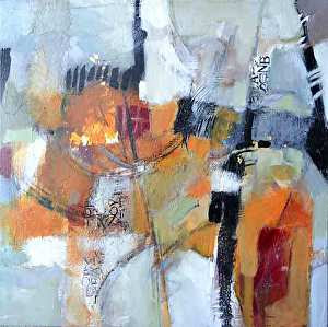 """Artifacts by Filomena Booth Mixed ~ 24"""" x 24"""""""