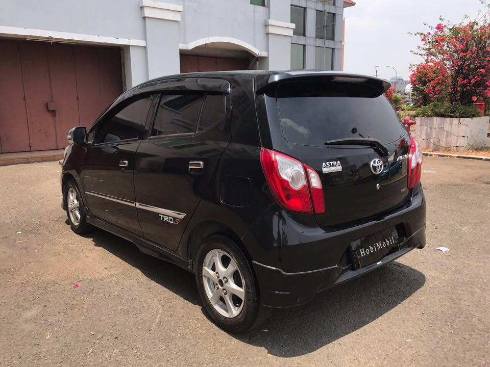 2015 Toyota Agya S TRD Sportivo A/T TDP 12jt and 2.5jt (SOLD)
