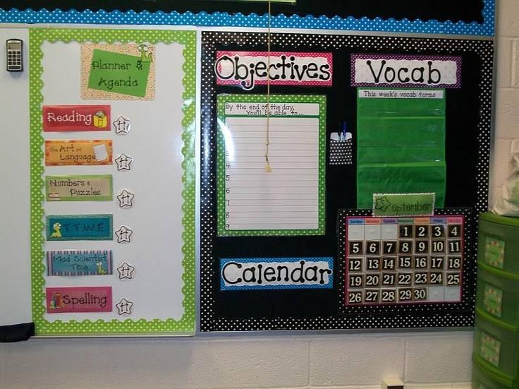 cute classroom - great organization!