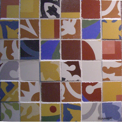 Fragments Cement Tile Accent Strip