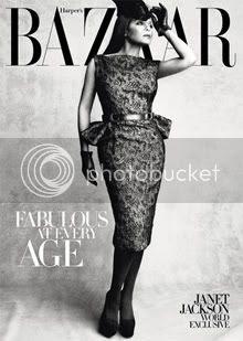 Janet Jackson in Harper Bazaar