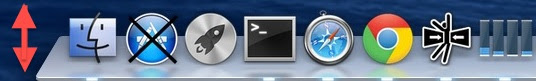 Automatically hide and show the Dock for more usable screen space