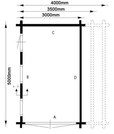 Gabel Roof Shed Plans: timber garage plans free uk