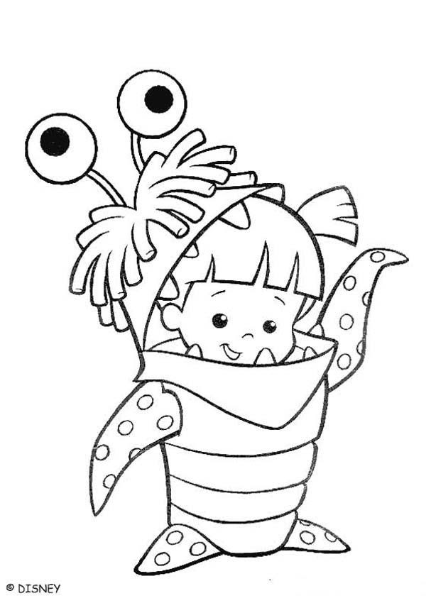 monsters inc printable coloring pages