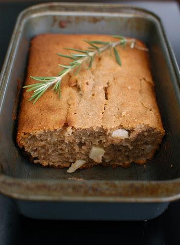 apple rosemary bread, gluten-free