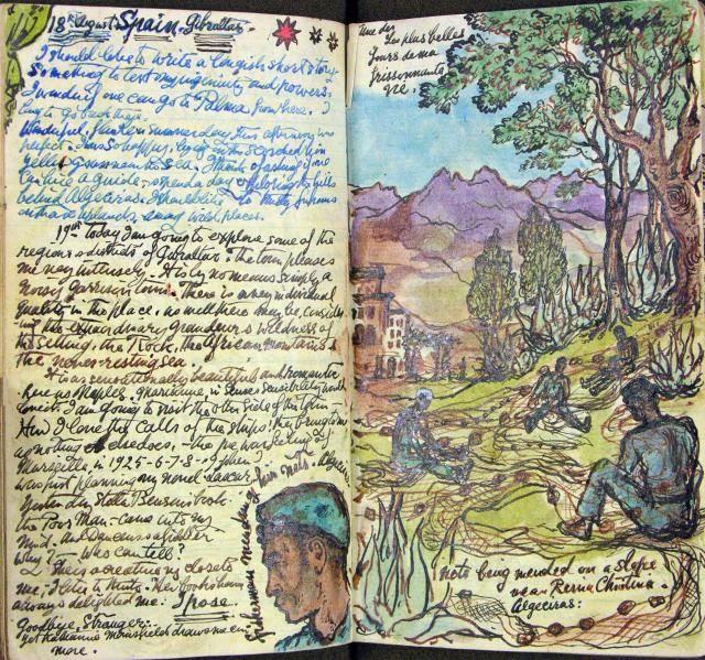 diary of Stephen Tennant, circa 1948