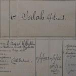Les douze militaires musulmans décédés entre 1923 et 1928