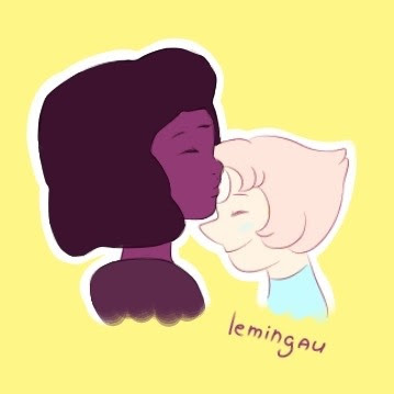 Some doodles of SU couples that I love! (reference)
