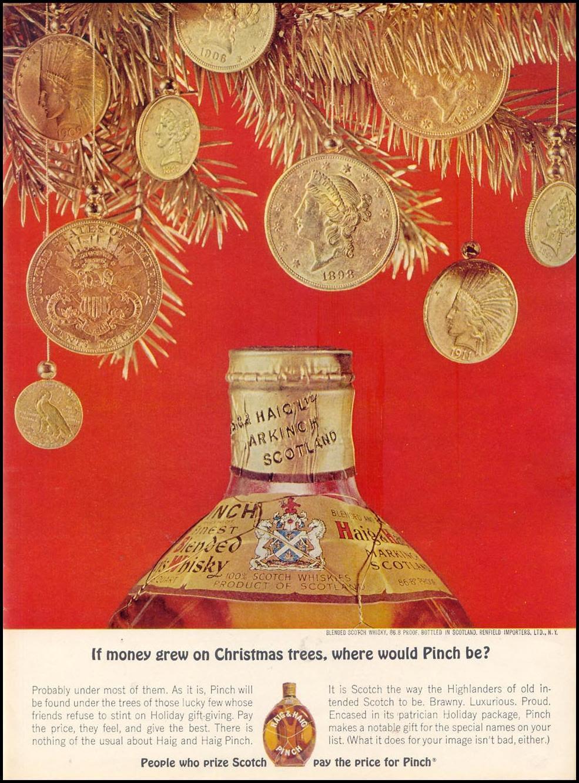 HAIG & HAIG PINCH SCOTCH TIME 12/07/1962 p. 87