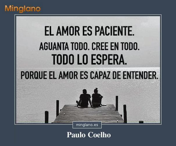 Frases De Amor De Paulo Coelho Con Imagenes