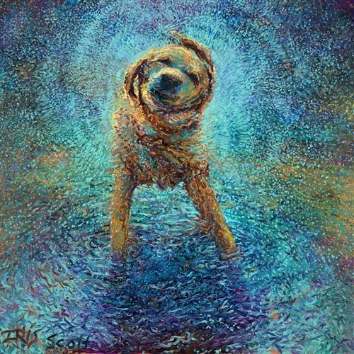 Iris Scott, impresionismo, arte impresionista