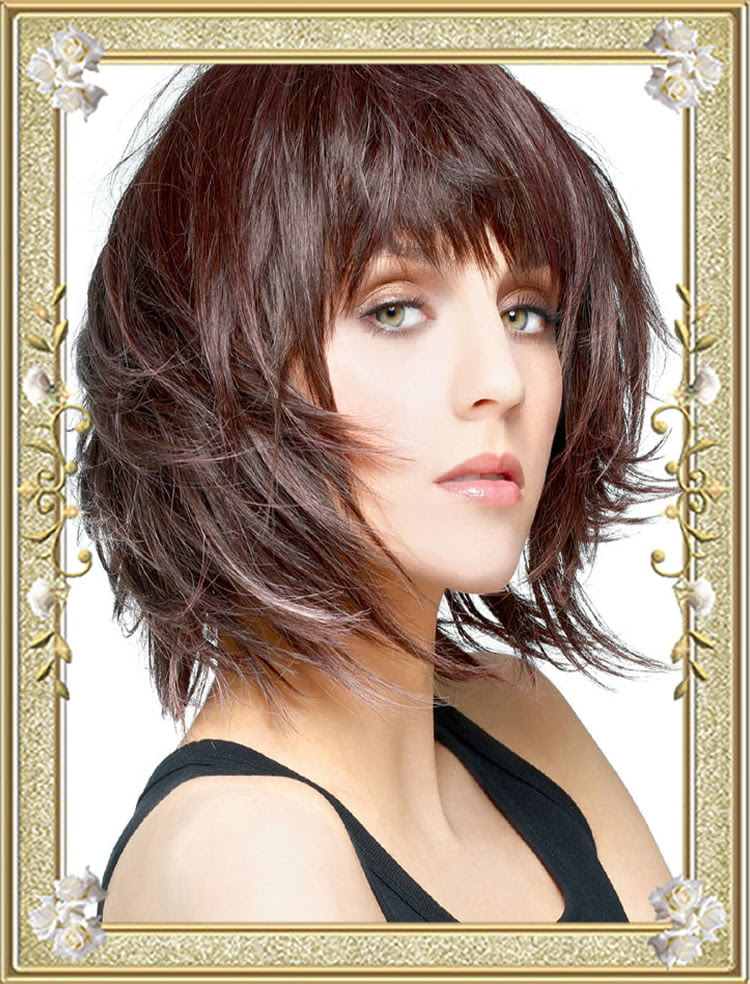 55 Medium Hairstyles with Bangs in 2017  Right Bang for Face Shape – HAIRSTYLES