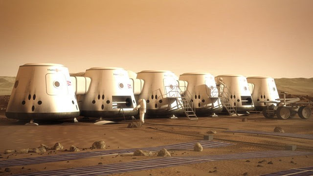 PHOTO: Mars One colony