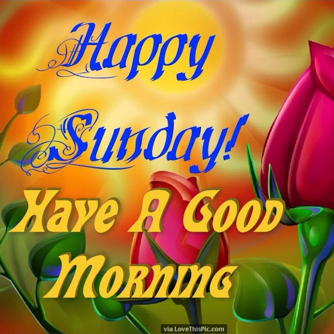 Happy Sunday Have A Good Morning Pictures Photos And Images For