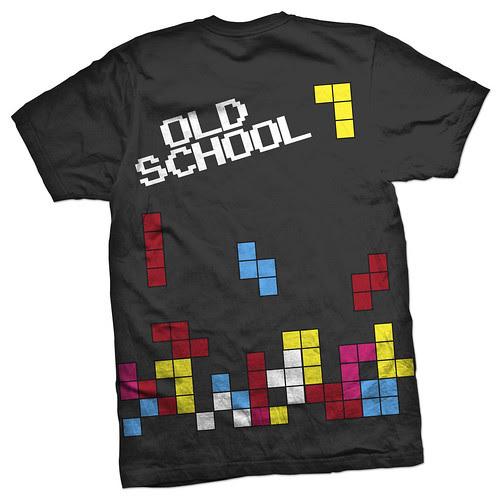 OldSchool tetris 2