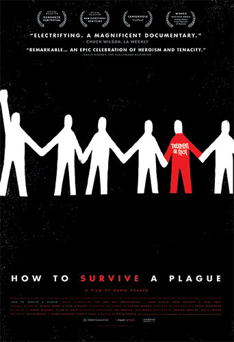 Theatrical poster, HOW TO SURVIVE A PLAGUE by Sam's Myth