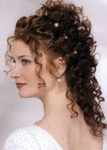 Wedding Hairstyles Naturally Curly Hair | Best Wedding Hairs