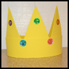 Crown : King Queen Prince Princess Crafts for Kids