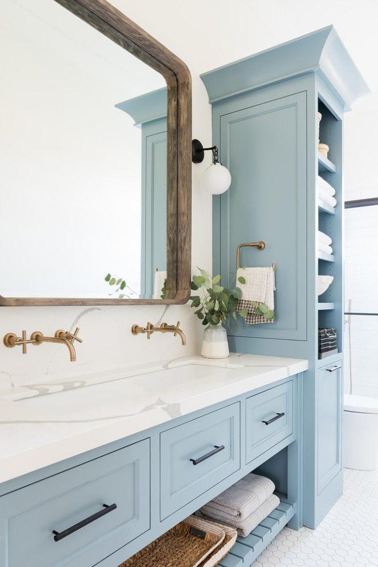 12 Blue Bathroom Ideas You'll Love - Decoholic