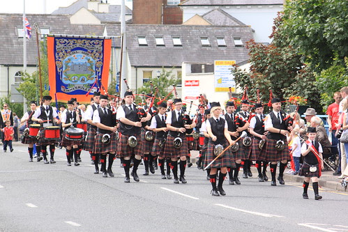 Pipe Band and Lodge