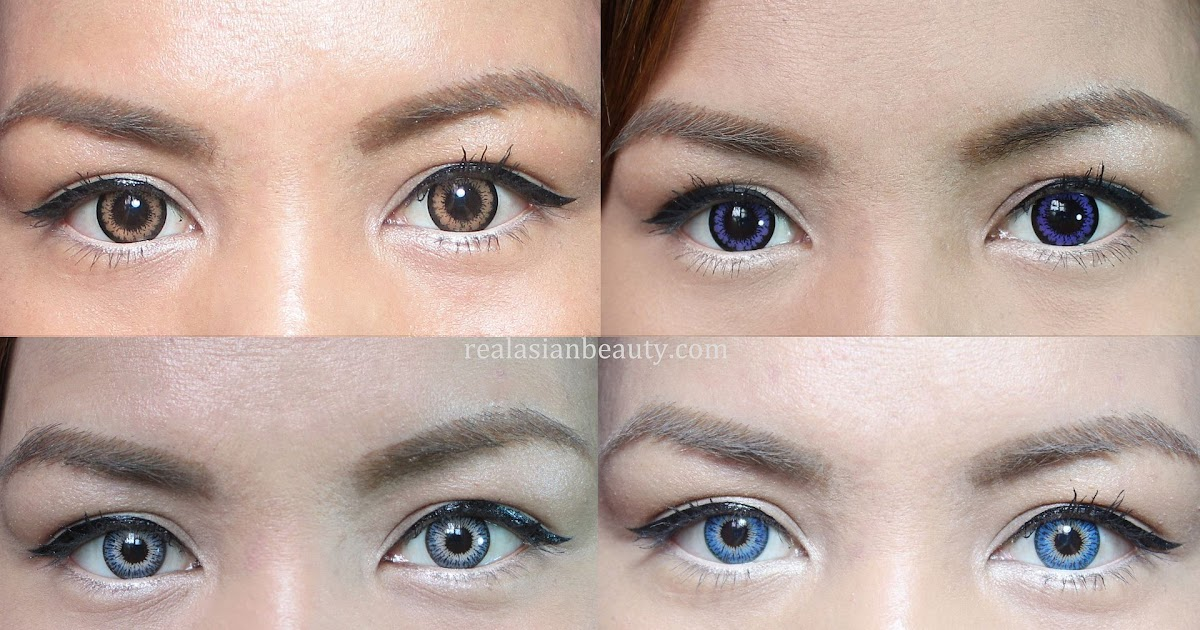 Real Asian Beauty: Color Contact Lens Guide + Review (for ...