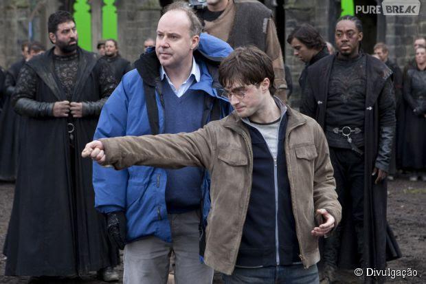 """Cotado para """"Animais Fantásticos e Onde Habitam"""", Dave Yates dirigiu quatro filmes da franquia """"Harry Potter"""""""