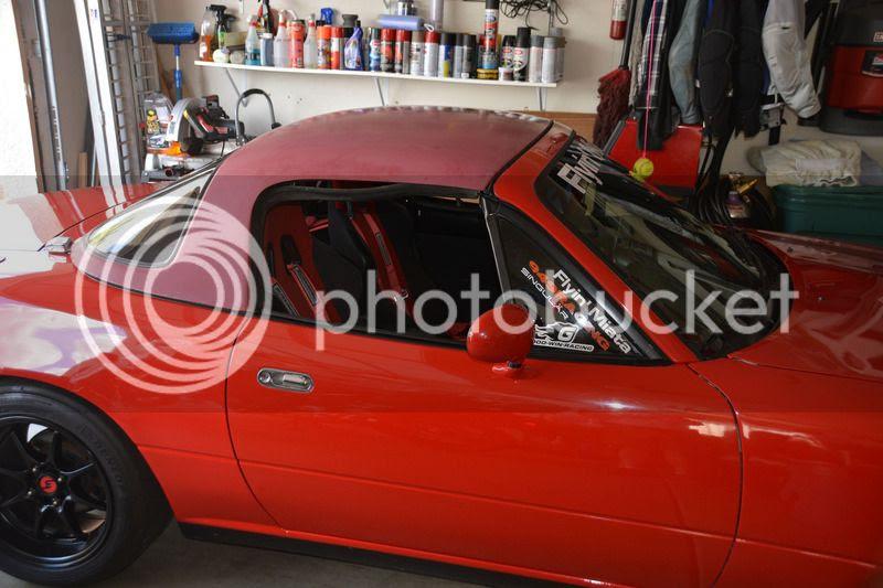 MX5 RH Door To Glass Weatherstrip Window Seal Genuine Mazda MX-5 Mk1 Mk2 1989/>05