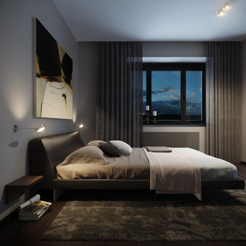22 Bachelor's Pad Bedrooms for Young Energetic Men | Home ...