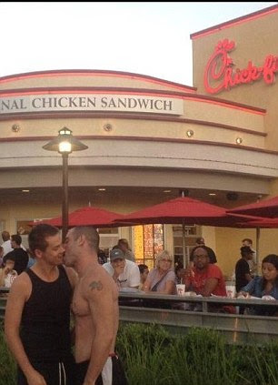 chick-fil-a protest