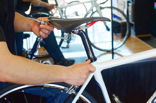 Saddle Fit at Cycle Loft
