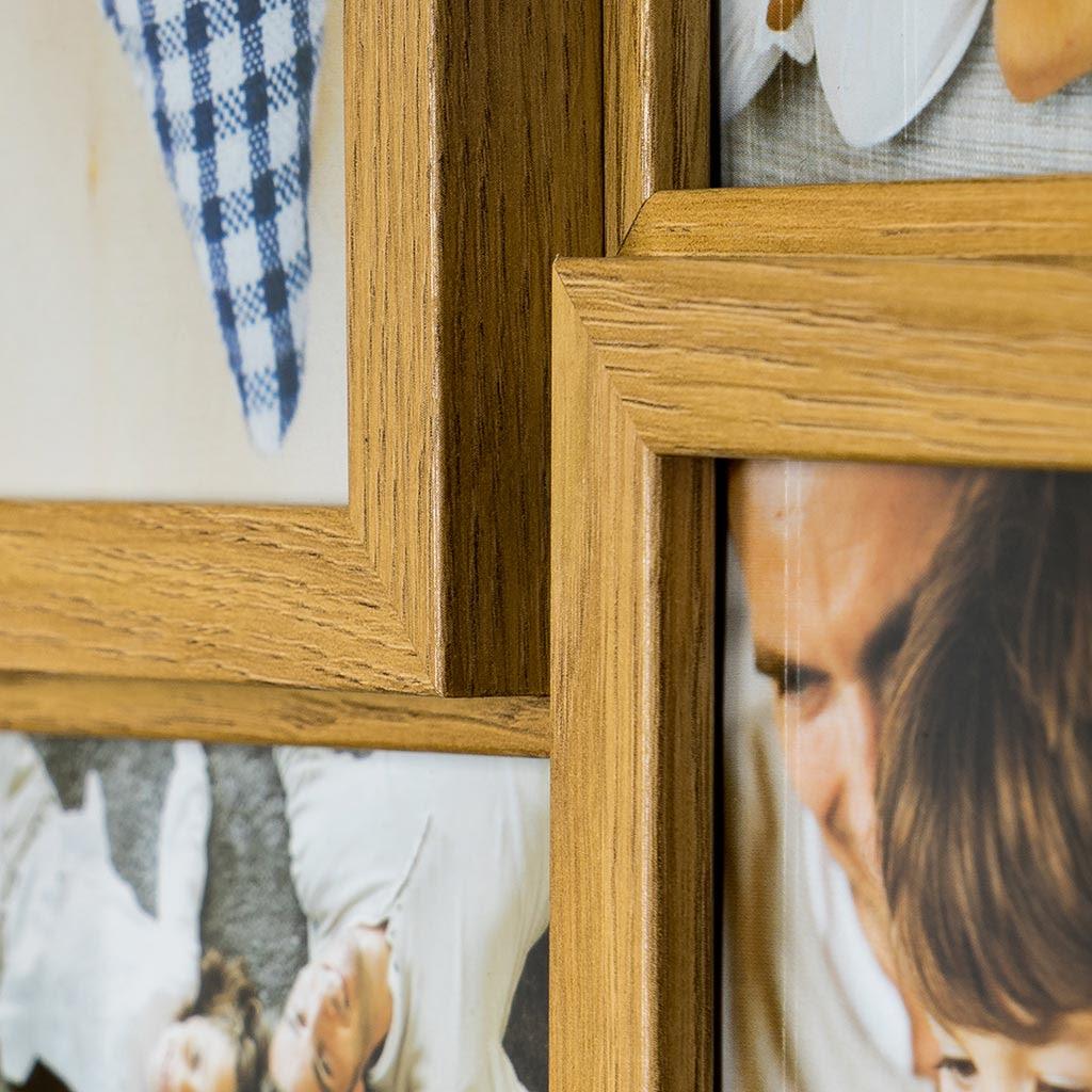 Bilderrahmen Collage Holz Ohne Glas Bvrao