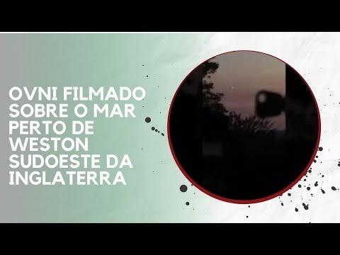 OVNI FILMADO SOBRE O MAR PERTO DE WESTON SUDOESTE DA INGLATERRA
