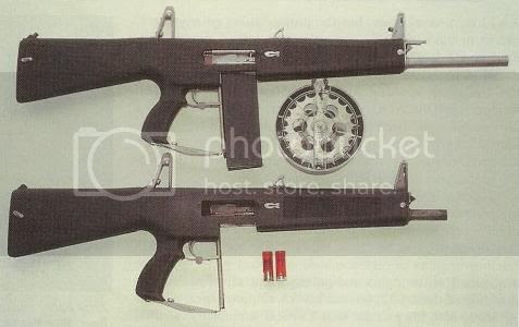 An older version of the AA-12