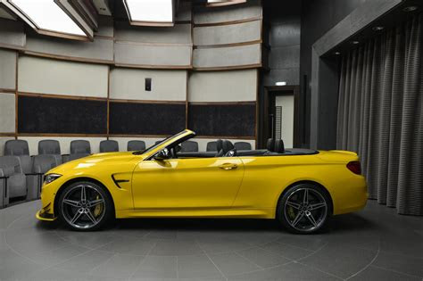 ac schnitzer speed yellow bmw  convertible