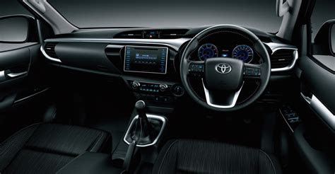 toyota hilux interior additional variants revealed