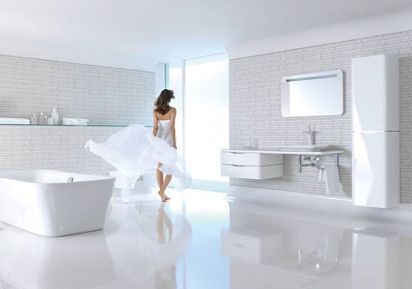 Modern floating vanity cabinets - airy and elegant ...