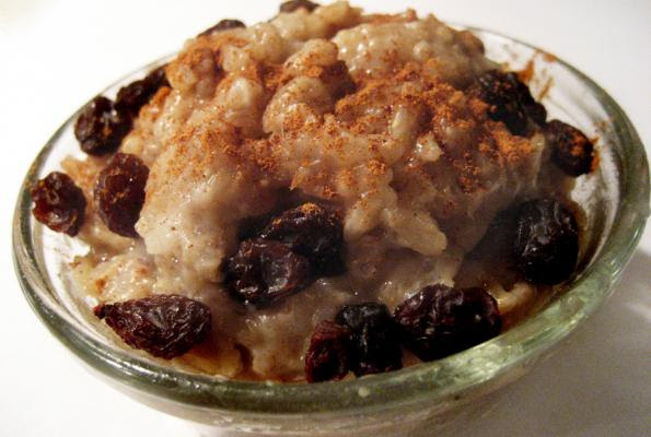 Slow Cooked Rice Pudding | VegWeb.com, The World's Largest ...