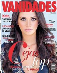 Foto de Anabel Angus en la portada de la revista VANIDADES