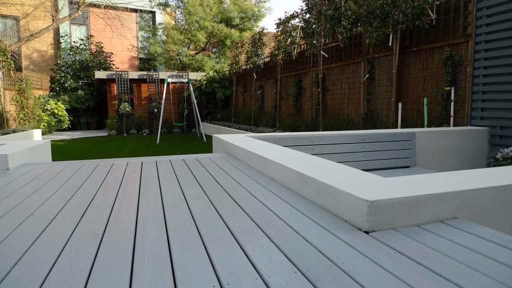 Garden Ideas Grey Decking Gardening Decoration Trends For Your Home